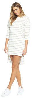NATIVE YOUTH Breton Dress In White / Oatmeal Size XS