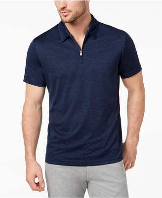 Alfani Men's Quarter Zip Polo