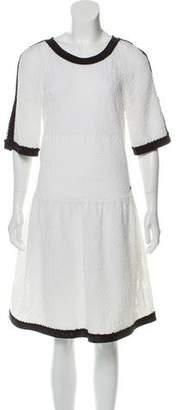 Chanel Textured Knit Dress w/ Tags