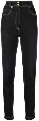 Versace high-waisted slim jeans