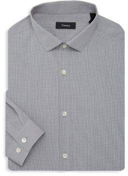 Theory Cedrick Check Dress Shirt