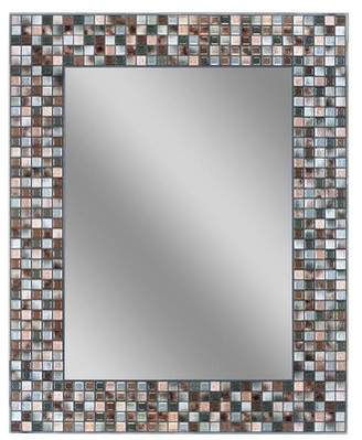 World Menagerie Tillman Mosaic Tile Accent Wall Mirror