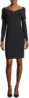 Ralph Lauren Maxine Portrait-Collar Dress