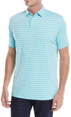 Peter Millar Men's Tour-Fit Kiegiel Stripe Performance Polo Shirt