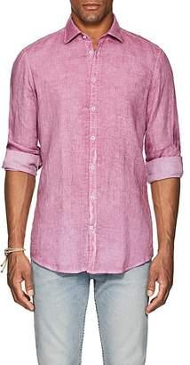 Massimo Alba Men's Washed Linen Shirt