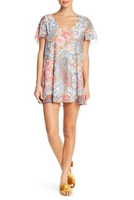 Show Me Your Mumu Kylie Short Sleeve Mini Dress