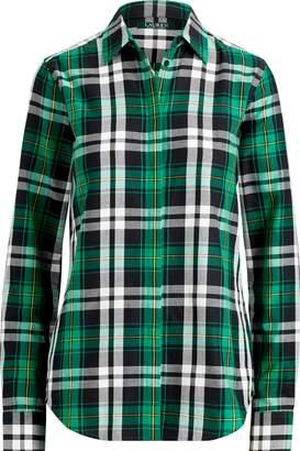 Ralph Lauren Plaid Cotton Button-Down Shirt