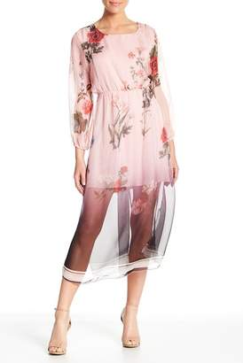 Luma Floral Woven Dress