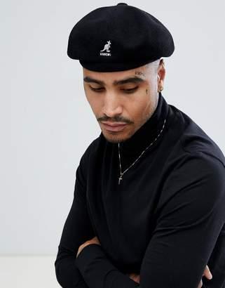 Kangol Wool Jax beret in black
