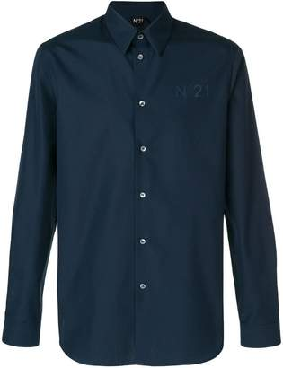No.21 long sleeve branded shirt