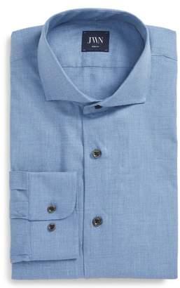 John W. Nordstrom R) Trim Fit Solid Dress Shirt