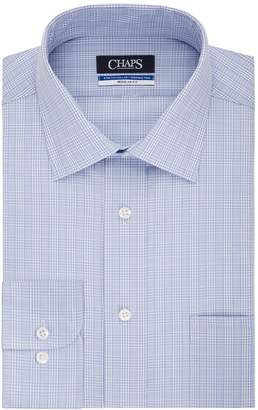 Chaps Big & Tall Regular-Fit Stretch-Collar Wrinkle-Free Dress Shirt