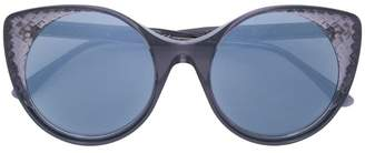 Bottega Veneta translucent cat eye sunglasses