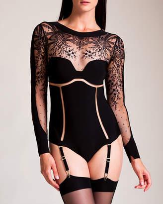 La Perla Neoprene + Ricamo Bodysuit