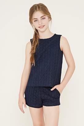 Forever 21 Girls Crochet Shorts (Kids)