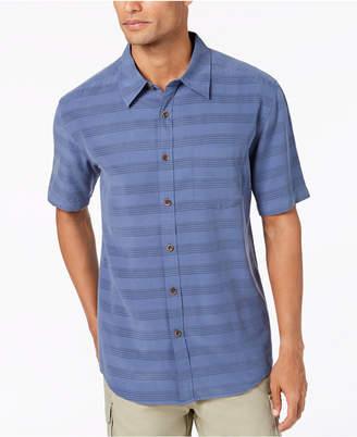 Quiksilver Men's Eggshell Striped Shirt
