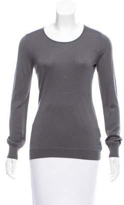Lela Rose Silk Knit Sweater