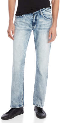 Buffalo David Bitton Indigo Six-X Straight Stretch Jeans