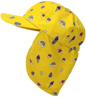 San Diego Hat Company Kids All Over Print Cap w/ Neck Cover Caps