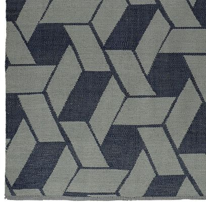 Thom Filicia Outdoor Graphic Links Rug
