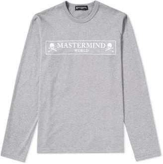 Mastermind World MASTERMIND WORLD Long Sleeve Box Logo Tee
