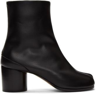Maison Margiela (メゾン マルジェラ) - Maison Margiela ブラック タビ ブーツ