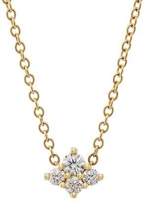 Sara Weinstock Women's Diamond Cluster Necklace