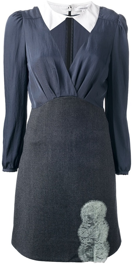 Carven cut-out structured dress