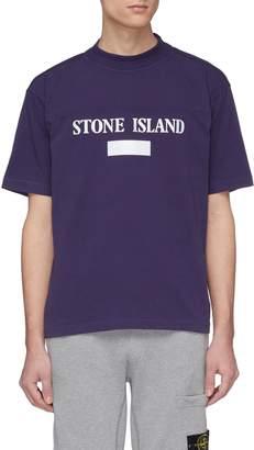 Stone Island Reflective logo print T-shirt