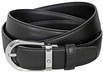 Montblanc Mont Blanc Printed Leather Belt 114416