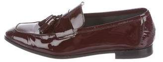 Paul Smith Patent Leather Semi-Pointed-Toe Loafers