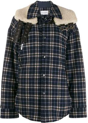 Couture Forte Dei Marmi shearling collar jacket