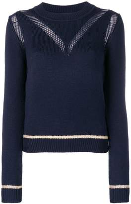 See by Chloe knit distressed sweater