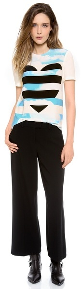Moschino Cheap & Chic Moschino Cheap and Chic Short Sleeve Top