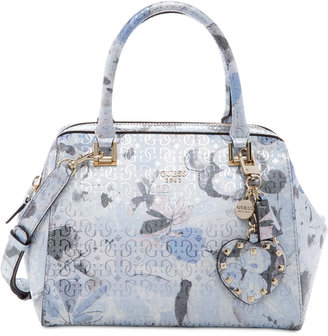 GUESS Winett Frame Satchel $118 thestylecure.com