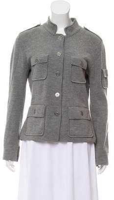 Tory Burch Wool Long Sleeve Jacket
