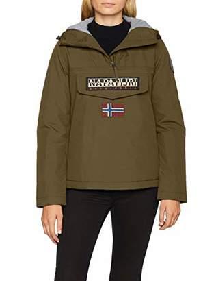 Napapijri Women's Rainforest Winter Jacket (Bright White 002)