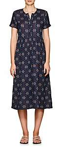 Ace&Jig Women's Ashcroft Geometric Cotton Midi-Dress