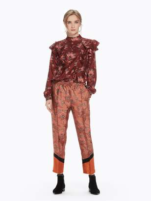 Scotch & Soda Floral Color Block Trousers