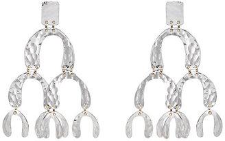 Women's Oversized Tiered-Drop Earrings