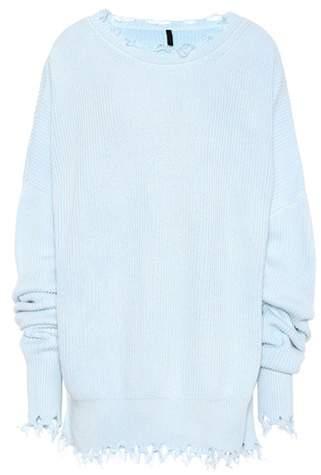 Pullover aus Baumwolle und Cashmere