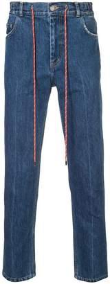 Christian Dada drawstring jeans