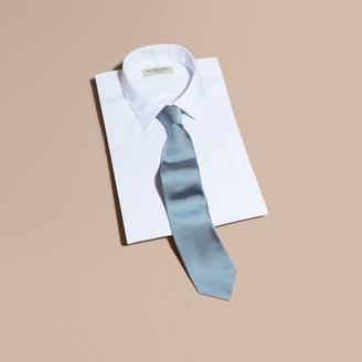 Burberry Modern Cut Silk Twill Tie $195 thestylecure.com
