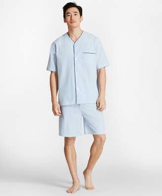 Brooks Brothers Seersucker Short Pajamas