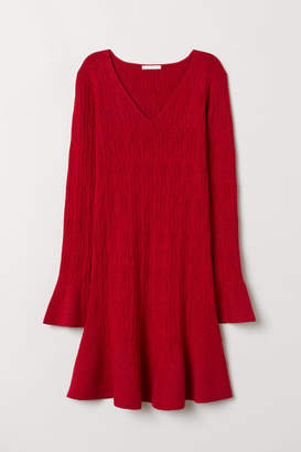 H&M Glittery Dress - Red