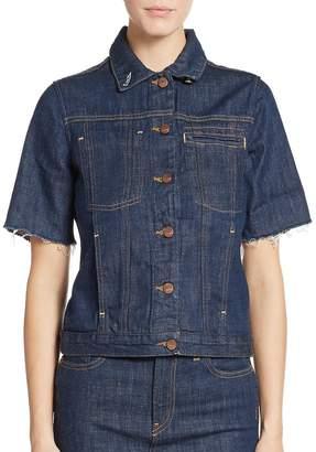 Genetic Los Angeles Women's Blondie Short-Sleeve Denim Jacket