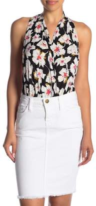 Free People Sure to Please Floral Bodysuit