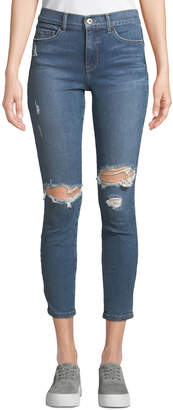Pistola Aline Distressed Ripped Skinny Jeans