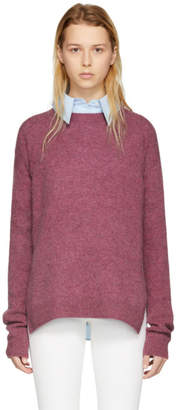 Acne Studios Pink Wool Deniz Sweater