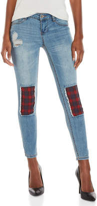 Dollhouse Charley Rip-and-Repair Skinny Jeans